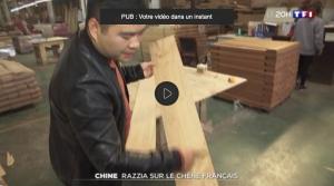 video TF1 Razzia sur le chêne français 2019-03-17